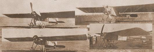 les avions de Paul Castaibert