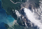 volcan Chaiten satellite