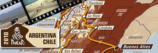 Dakar Argentine Chili