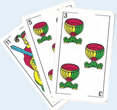 valeur des cartes truco