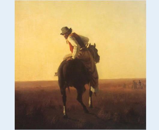 gaucho à cheval