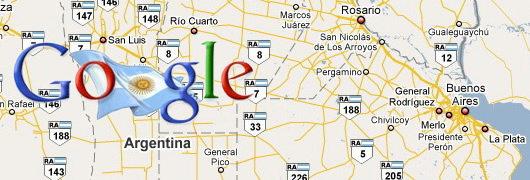 Google maps argentine