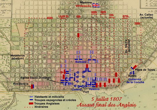 invasion anglaise 1807