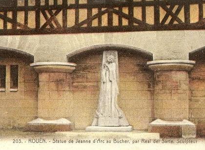 Jeanne au Bucher Rouen