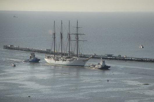 Grands voiliers à Buenos aires