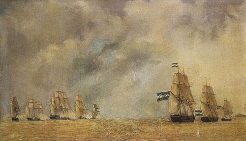 Juan B. Durand-Brager Combate naval del 24 de mayo de 1841
