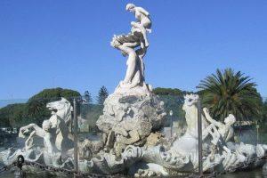 Lola Mora fontaine des néréides