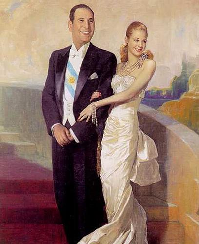 Juan Domingo Peron et Eva Duarte - 1948 - Numa Ayrinhac
