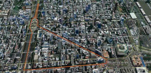 course automobile dans Buenos Aires