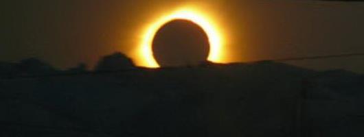 eclipse totale du soleil el Calafate