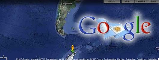 google street view antarctique