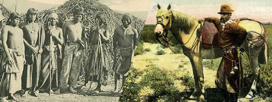 indiens et gauchos d'Argentine
