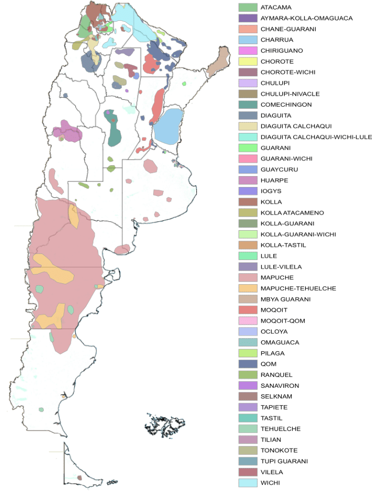 indigenes argentine