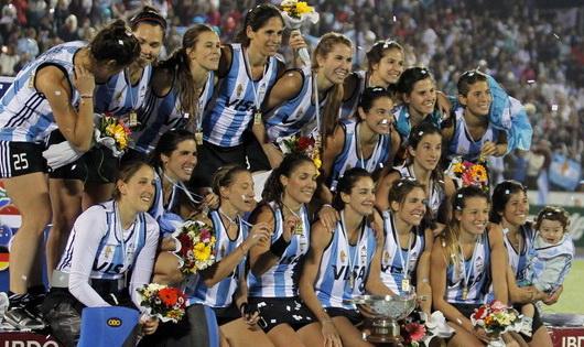 Las Leonas championne du monde 2002 et 2010