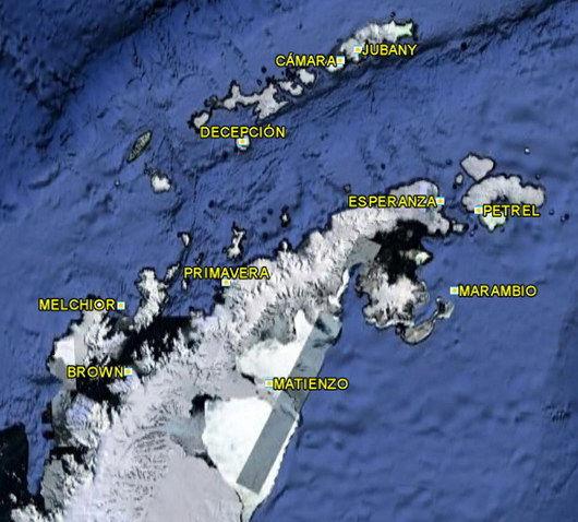 bases Argentine en Antarctique