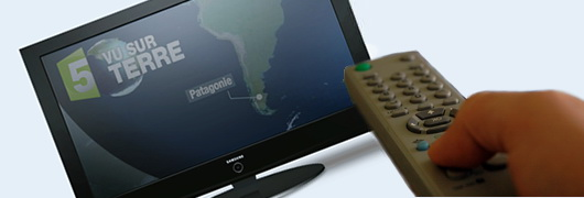 Vu sur Terre en Patagonie