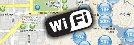 1000 bornes wifi gratuites en argentine. Black Bedroom Furniture Sets. Home Design Ideas