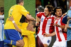 Argentine-Bresil-Paraguay-Uruguay