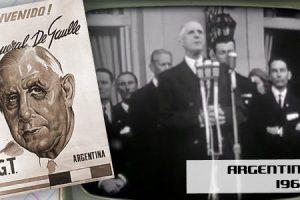 de Gaulle en Argentine