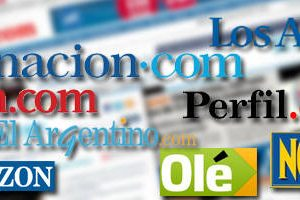 journaux quotidiens et magazine d'argentine