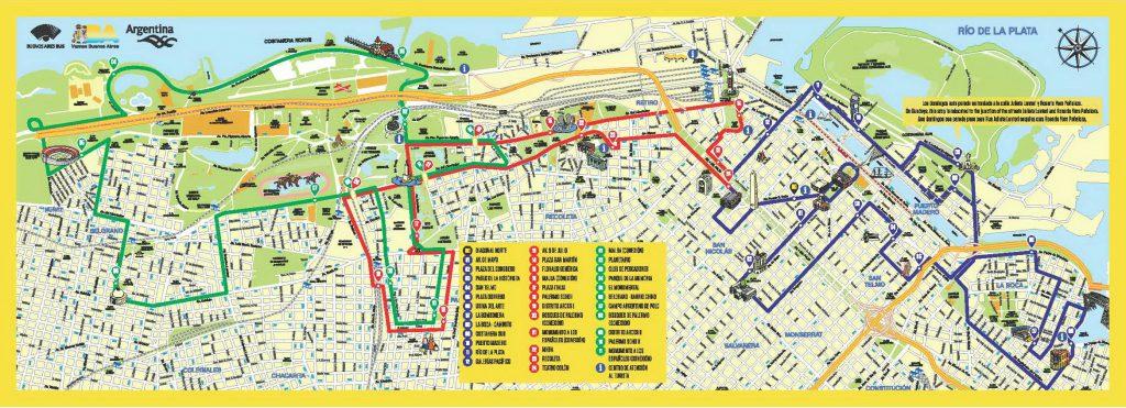 Bus touristique Buenos Aires