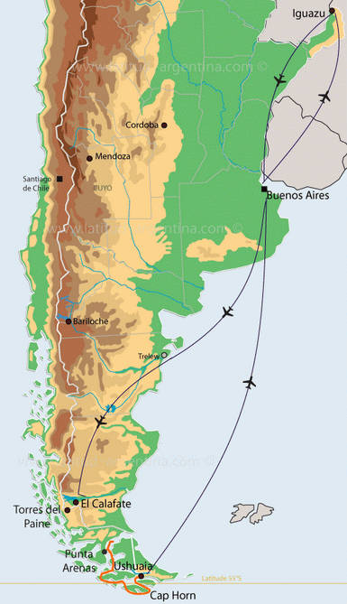 voyage Argentine idée numero 1