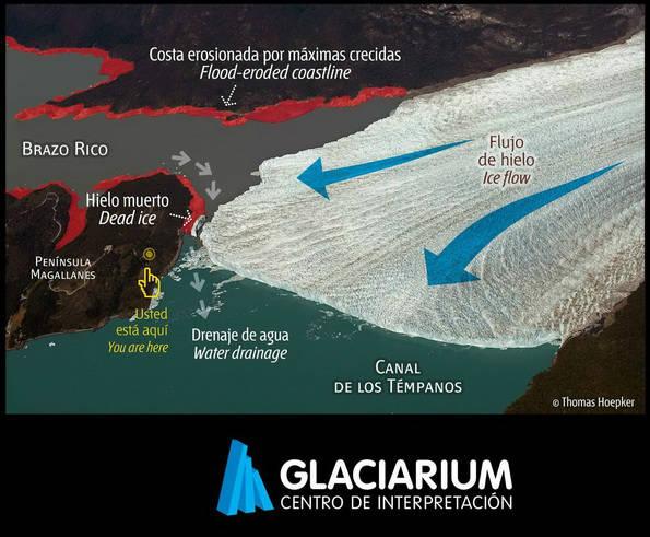 rupture glacier perito moreno