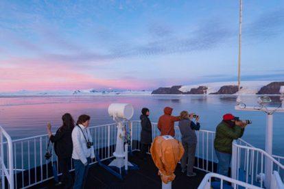 antarctique crépuscule