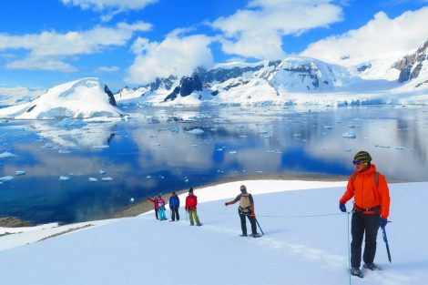 randonnee antarctique