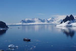 mouillage en Antarctique