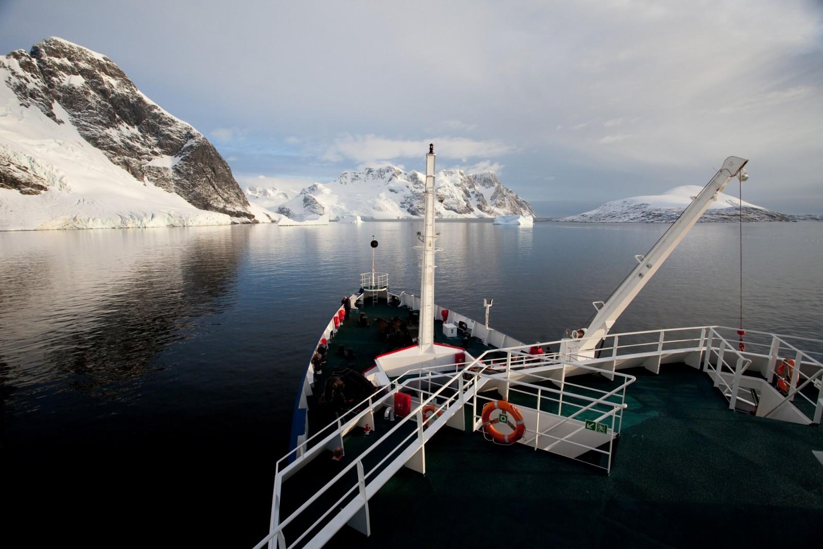 antarctique canal