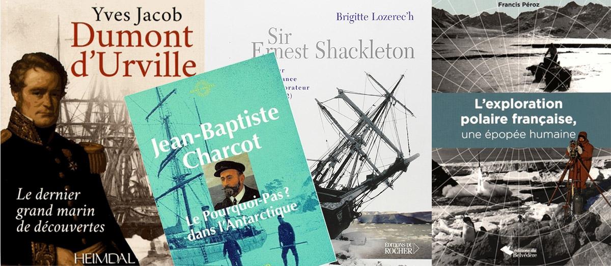 antarctique livres