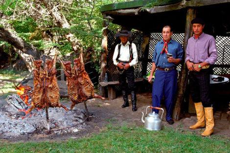 agneau grillé de patagonie