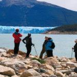 Promenade en face du glacier
