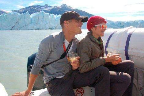 whisky glace du glacier