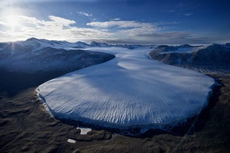 dry valley glacier