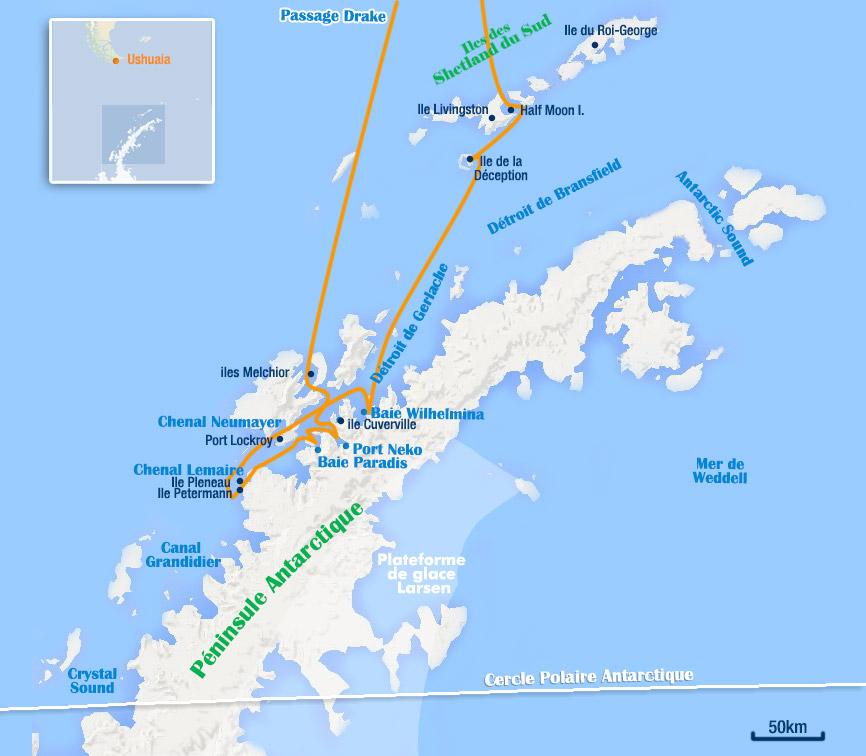 antarctique 12 jours