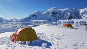 bivouac antarctique