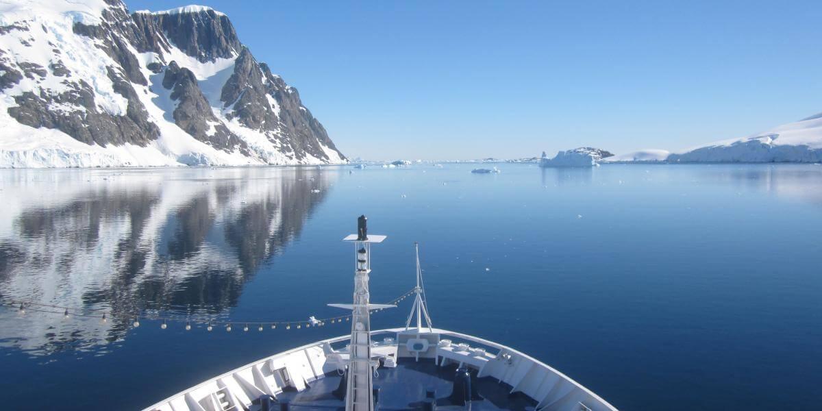 antarctique survol drake cercle polaire