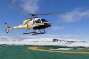 helicoptere antarctique