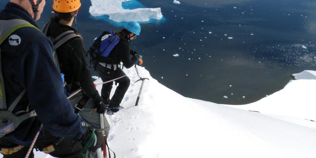 randonnée en antarctique