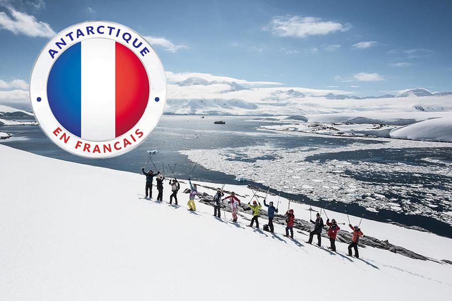 Antarctique en français