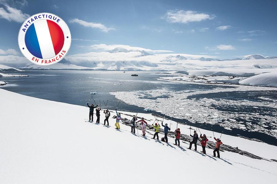 antarctique guide francais
